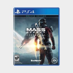 Andromeda's PS4 Cover Art
